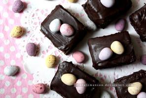 Mini Egg Cake Bites by claremanson