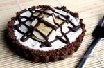 Banana and Chocolate Cheesecake (+recipe)