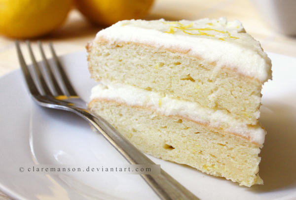 Zesty Lemon Cake by claremanson