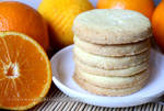 Orange Zest Sugar Cookies (+recipe)
