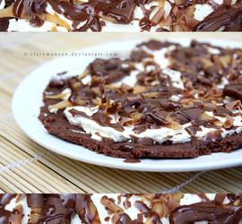 Cheesecake Pizza by claremanson