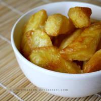 Homemade Oven Chips (+recipe)