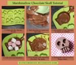 Marshmallow Chocolatete Skull Tutorial