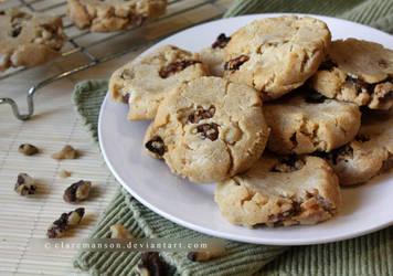 Honey Walnut Cookies by claremanson