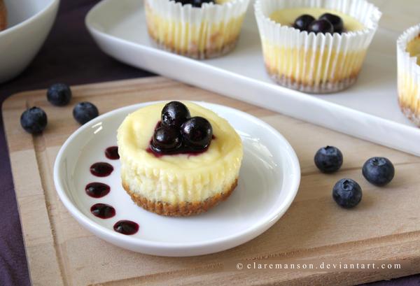 Blueberry Cheesecake by claremanson