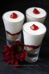 Cheesecake Shots (+recipe) by claremanson