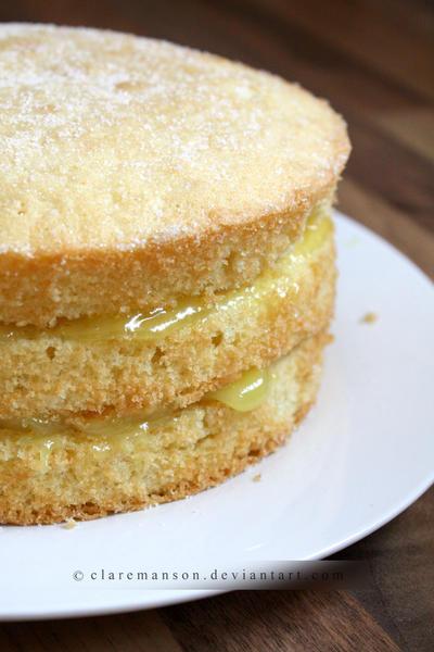 Lemon Cake + Recipe by claremanson