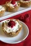 Raspberry Cheesecake Cups