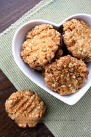 Chocolate Dipped Oat Cookies (+Recipe) by claremanson