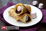 Nutella and Marshmallow Pancakes (+YouTube Recipe)