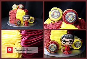Harry Potter Cake (+YouTube Video) by claremanson