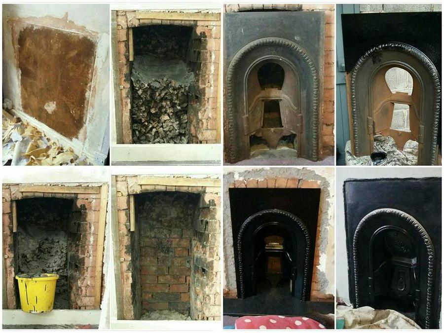 Cast Iron Fireplace WIP by claremanson