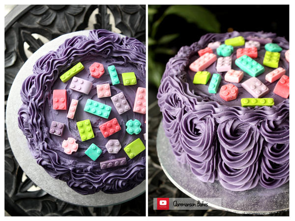 Lego Birthday Cake Making Of Video By Claremanson On Deviantart