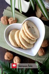 Walnut Shortbread (+YouTube Recipe) by claremanson