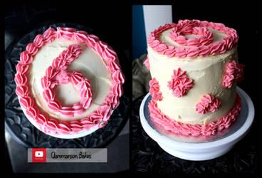 Rainbow Cake (+YouTube Recipe) by claremanson