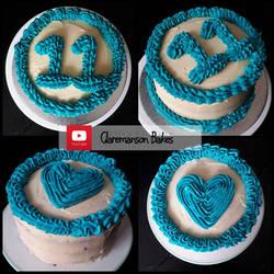 11th Birthday Cakes (+YouTube Recipe) by claremanson