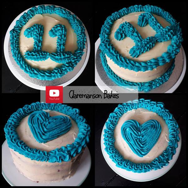 11th Birthday Cakes Youtube Recipe By Claremanson On Deviantart
