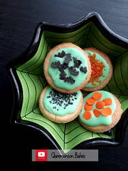 Trick Or Treat Cookies (+YouTube Recipe) by claremanson