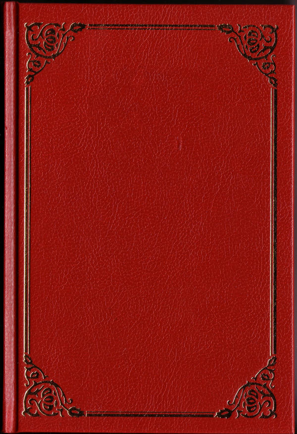 Book Cover Stock Photography ~ Classic red book cover by semireal stock on deviantart