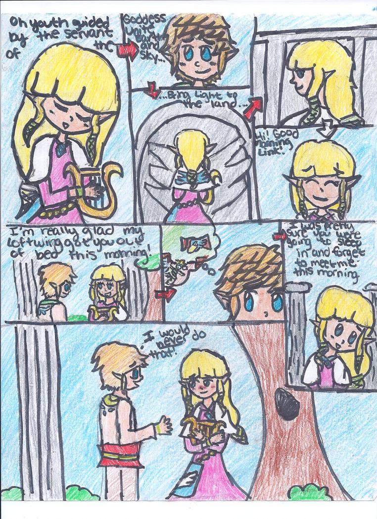 Zelda Skyward Sword Romance Comic by Zelink5 on DeviantArt