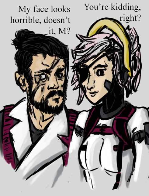 Switchboss and Mercyboss, Face to Face by colebotman
