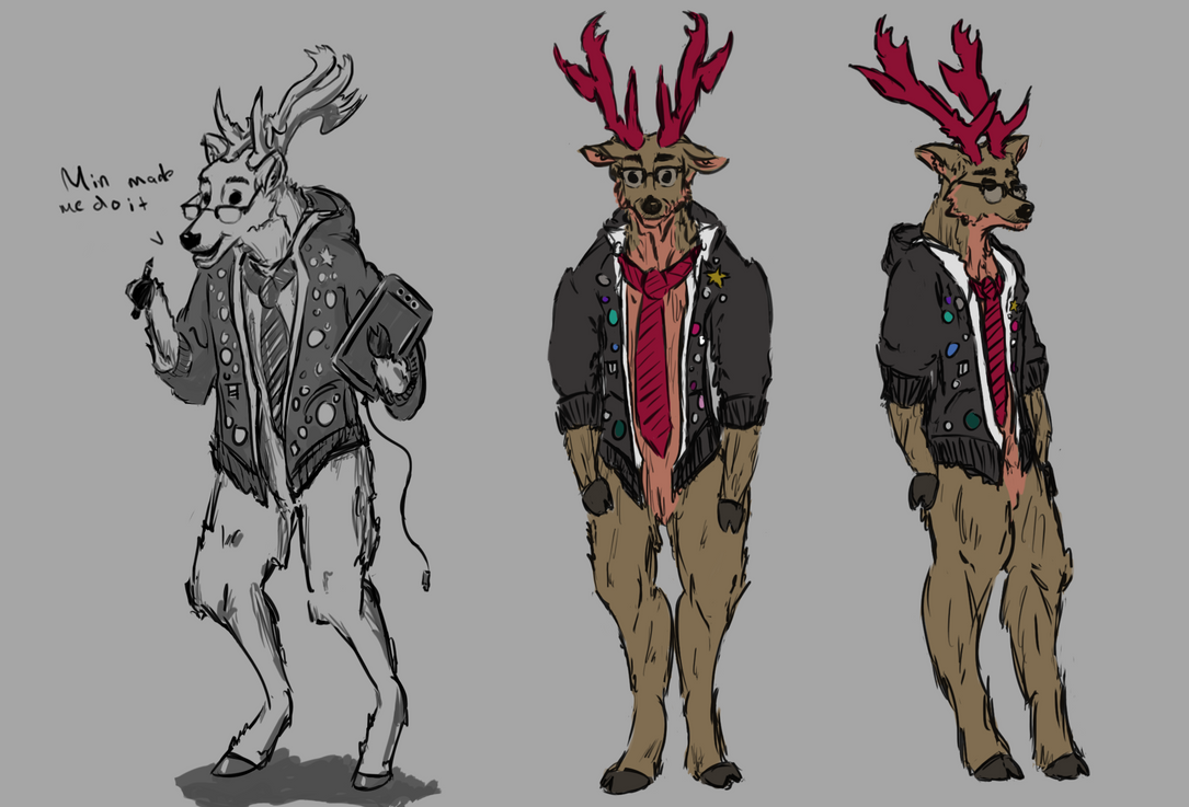 cole, as a deer by colebotman