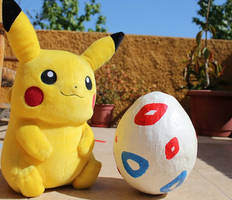 Togepi life size egg prototipe