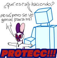 I protecc! (Spanish)