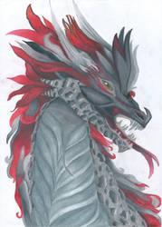 Dragon by artisticvibee