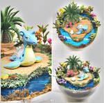 Lapras Tropical Island - Poke Ball Terrarium