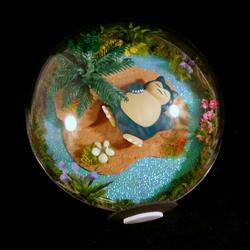 Pokeball Terrarium - Snorlax Island zzz
