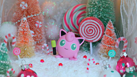 Christmas Jigglypuff Candy Land