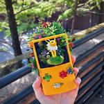 Jolteon GameBoy Terrarium