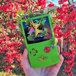 Leafeon Gameboy Terrarium