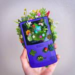 Bulbasear GameBoy Terrarium
