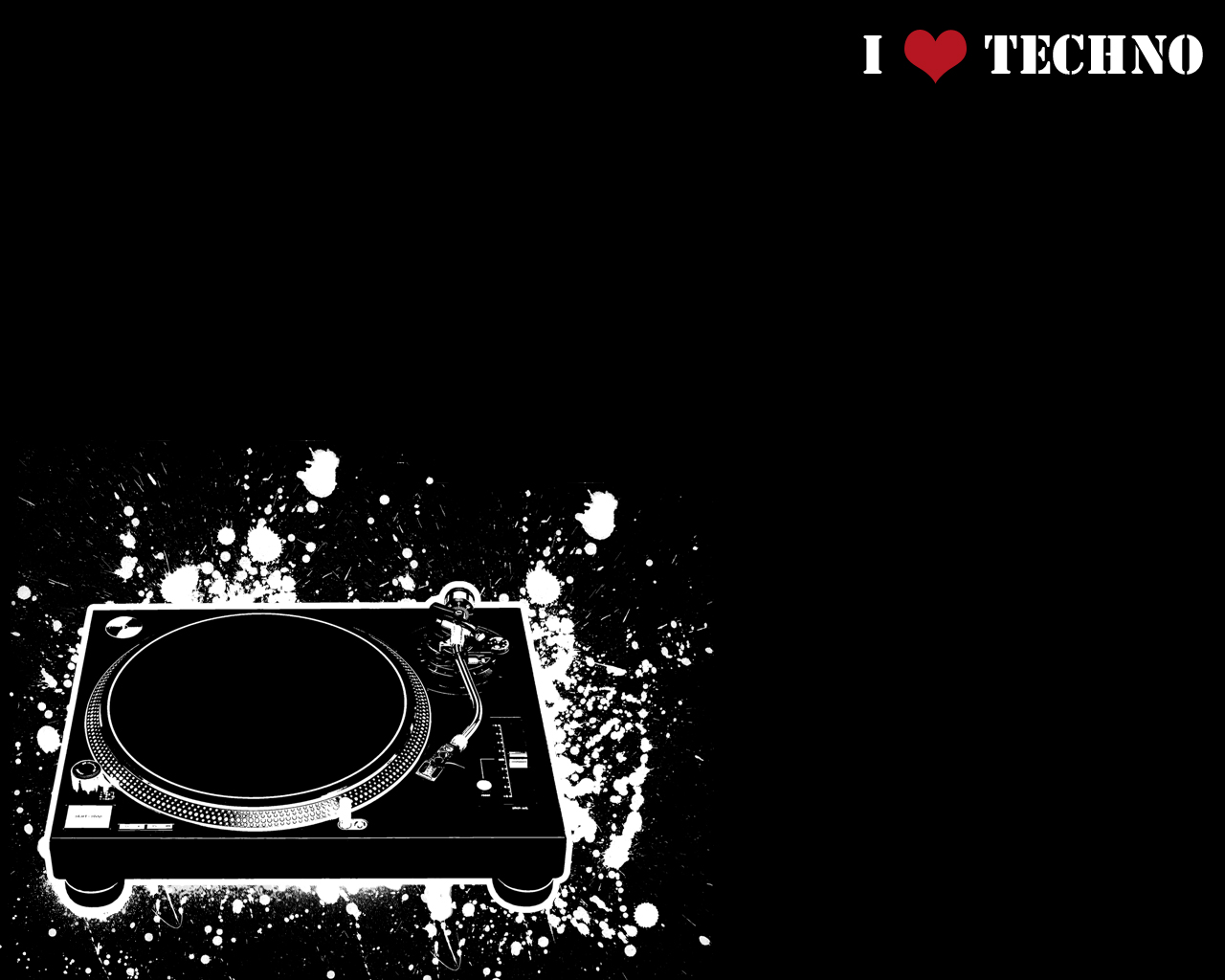 I love Techno by mortifi