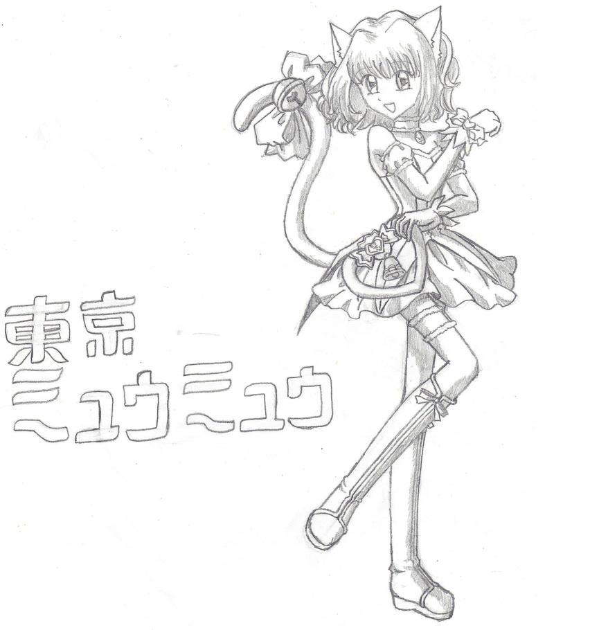 tokyo mew ichigo coloring pages - photo#25