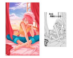 Scanlation color - Fureru to kikoeru