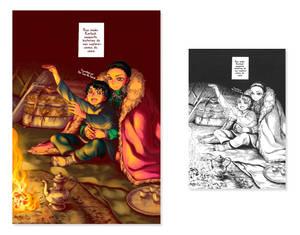 Scanlation color - The bride's stories