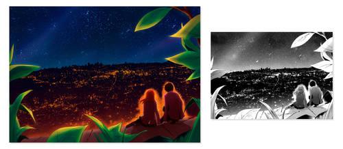 Scanlation color - Sayonara Peter Pan