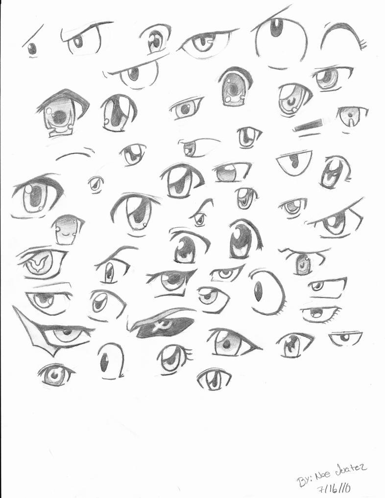 Anime Eyes By Ninja4354