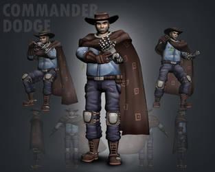 Commander Dodge 3D Model