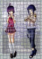 .: Nodoka and Hinata :. by sas-chan