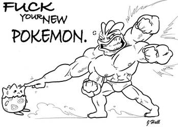 Machamp by JHALLpokemon
