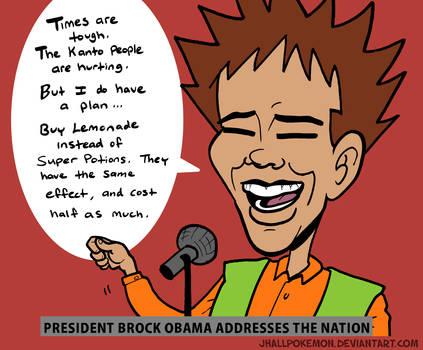 Brock Obama by JHALLpokemon
