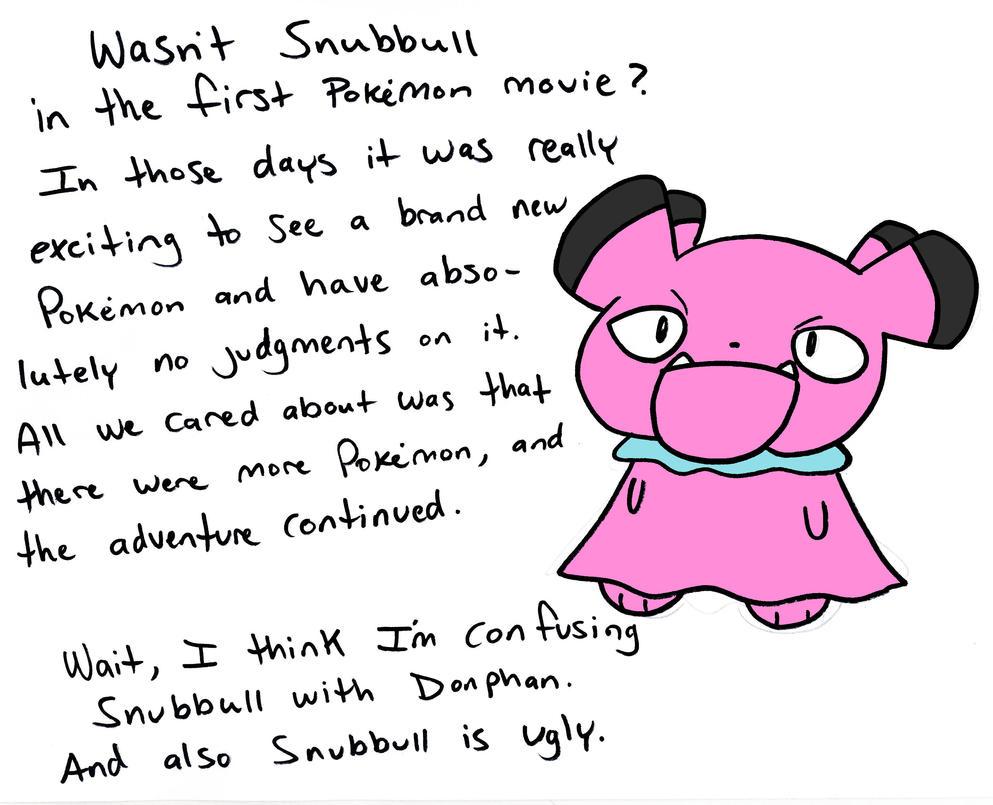 Snubbull by JHALLpokemon