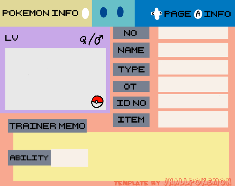ID template by JHALLpokemon