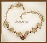 Gold...gold Necklace by kokonok