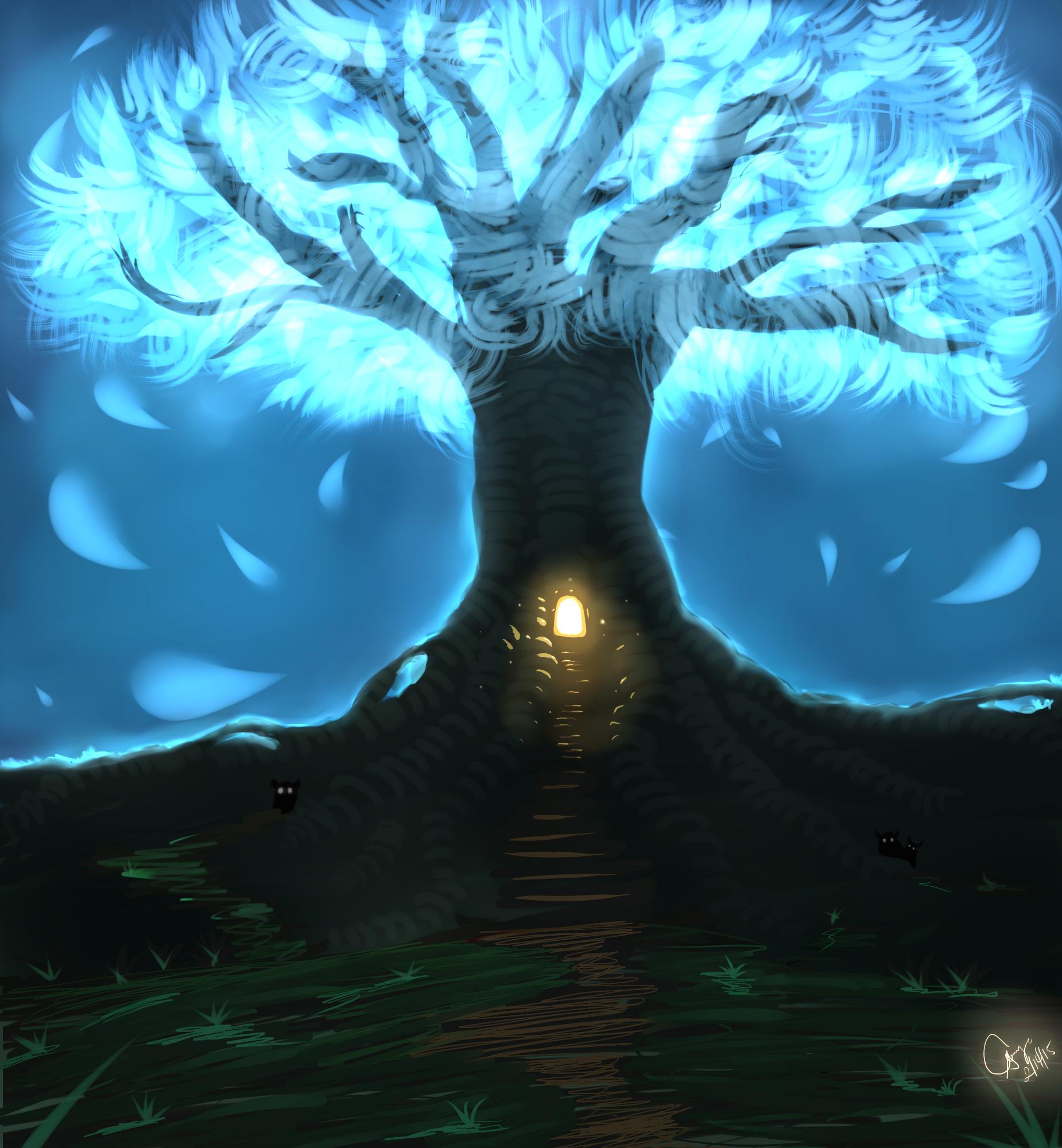 Glowy Tree  House Thingy