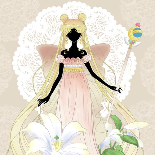Queen Serenity by KitsMitsu